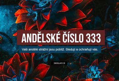 andělské číslo 333